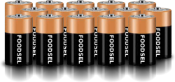 15.0 size D batteries