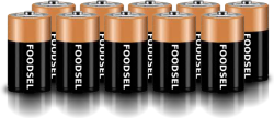 11.0 size D batteries