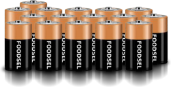 16.5 size D batteries
