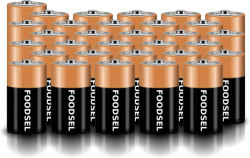 31.2 size D batteries