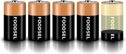 4.2 size D batteries